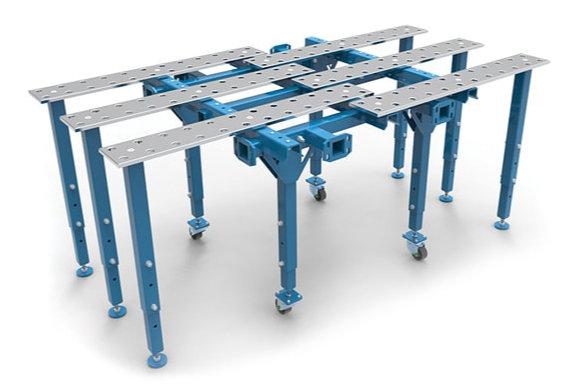 GPPH moduláris hegesztóasztal