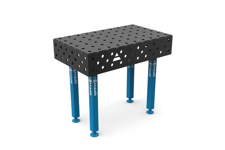 GPPH ECO 1000x600 mm hagyományos hegesztőasztal
