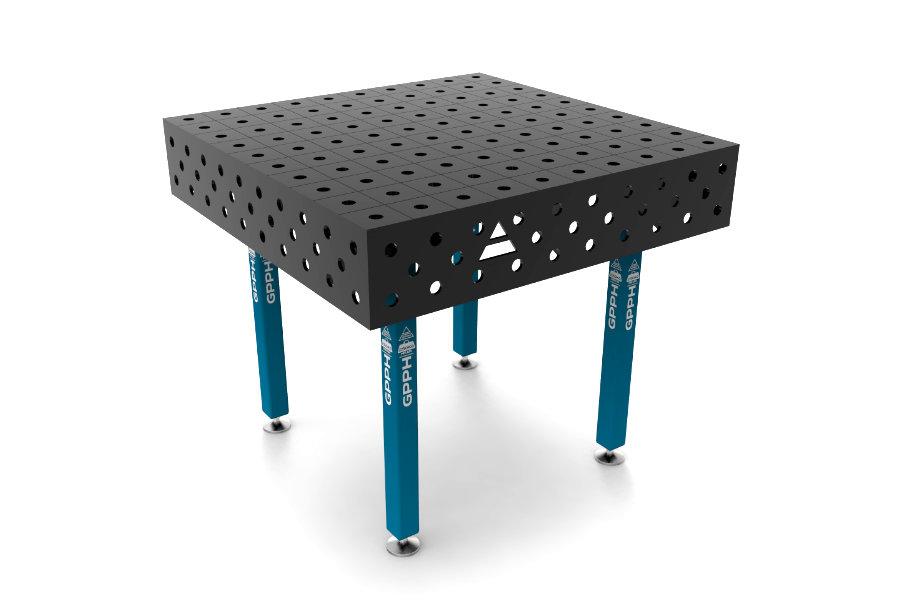 GPPH ECO 1000x1000 mm hagyományos hegesztőasztal