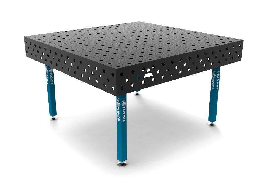 GPPH ECO 1500x1480 mm hagyományos hegesztőasztal