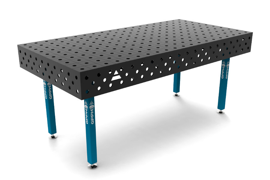 GPPH ECO 2000x1000 mm hagyományos hegesztőasztal