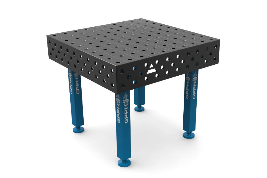 GPPH PLUS 1000x1000 mm hagyományos hegesztőasztal