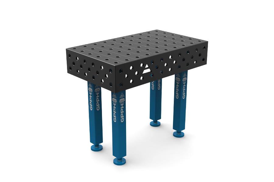 GPPH PLUS 1000x600 mm hagyományos hegesztőasztal