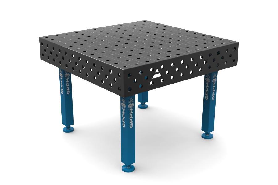 GPPH PLUS 1200x1200 mm hagyományos hegesztőasztal