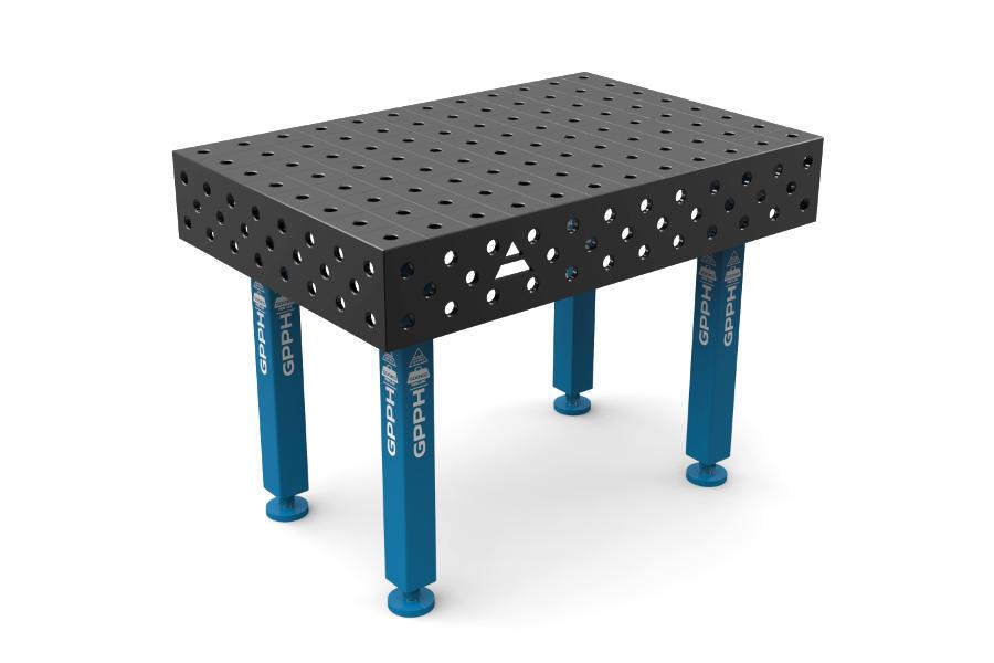 GPPH PLUS 1200x800 mm hagyományos hegesztőasztal