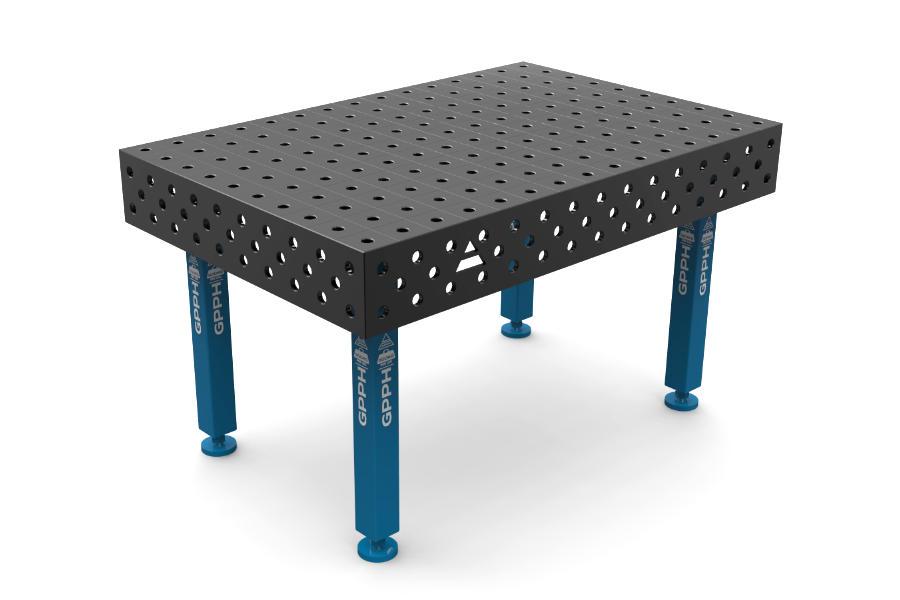GPPH PLUS 1500x1000 mm hagyományos hegesztőasztal