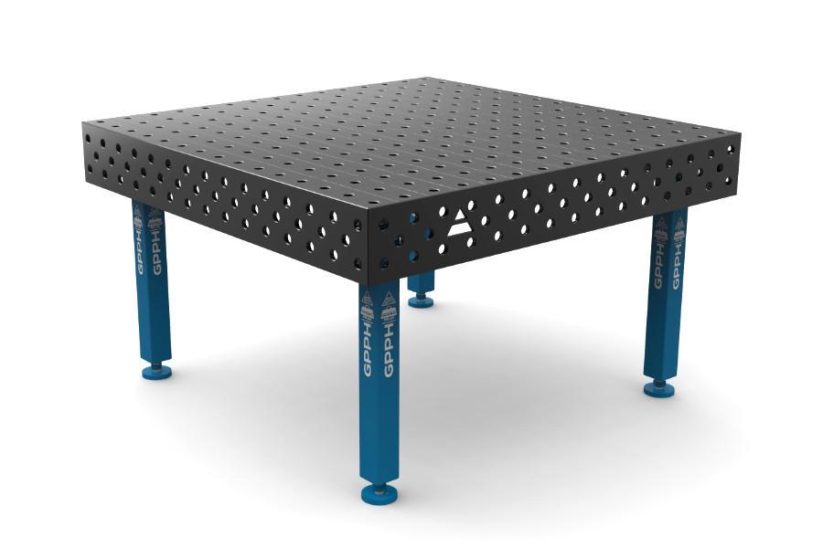 GPPH PLUS 1500x1480 mm hagyományos hegesztőasztal