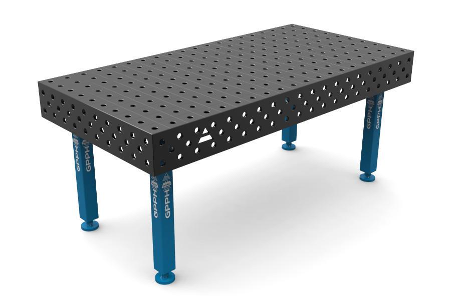 GPPH PLUS 2000x1000 mm hagyományos hegesztőasztal