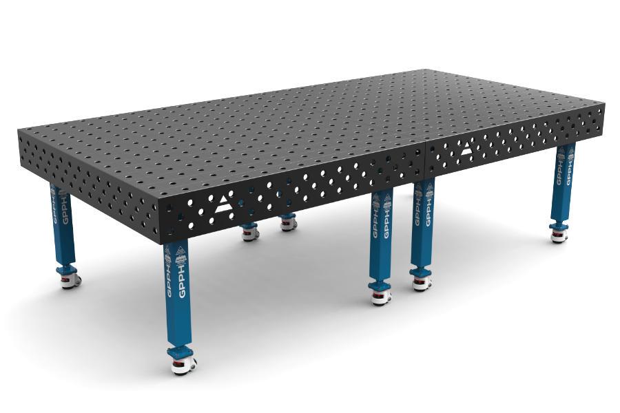 GPPH PLUS 3000x1480 mm hagyományos hegesztőasztal