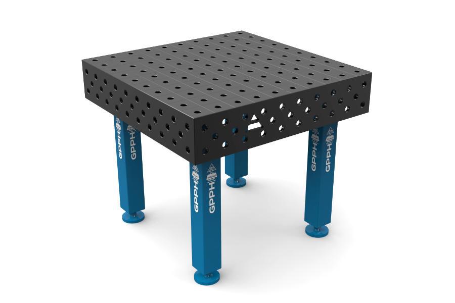 GPPH PRO 1000x1000 mm hagyományos hegesztőasztal