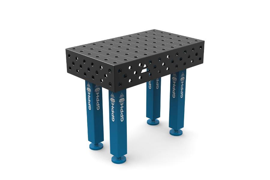 GPPH PRO 1000x600 mm hagyományos hegesztőasztal