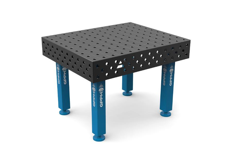 GPPH PRO 1200x1000 mm hagyományos hegesztőasztal