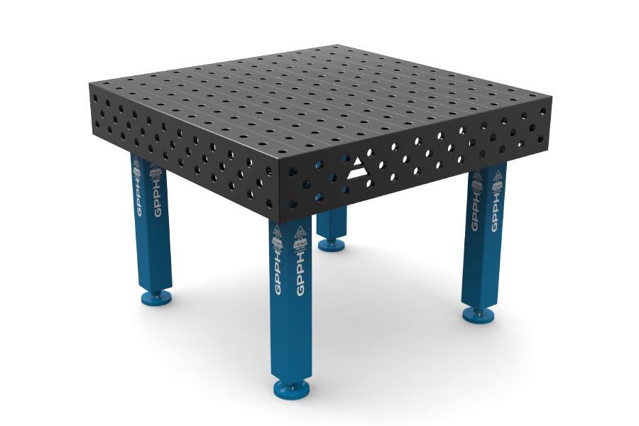 GPPH PRO 1200x1200 mm hagyományos hegesztőasztal