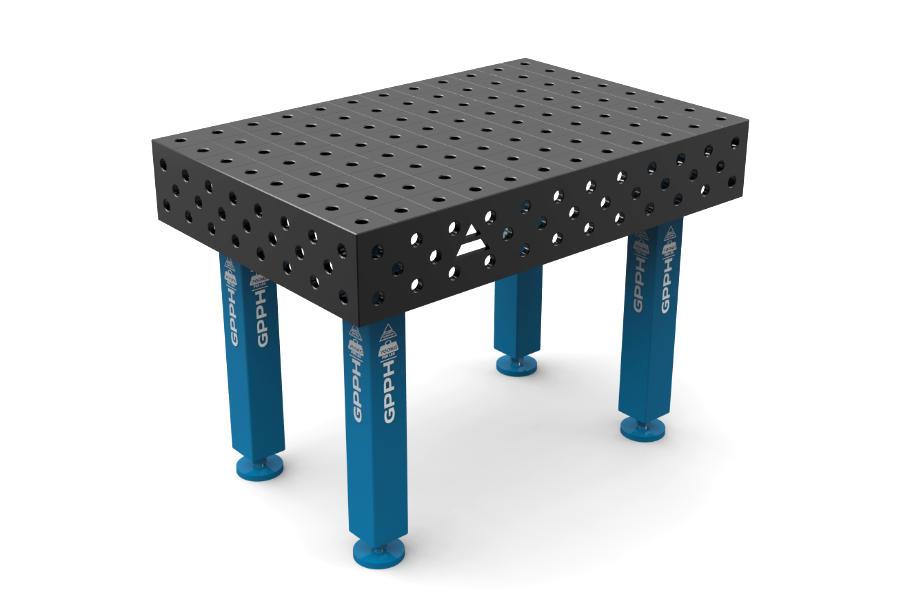 GPPH PRO 1200x800 mm hagyományos hegesztőasztal