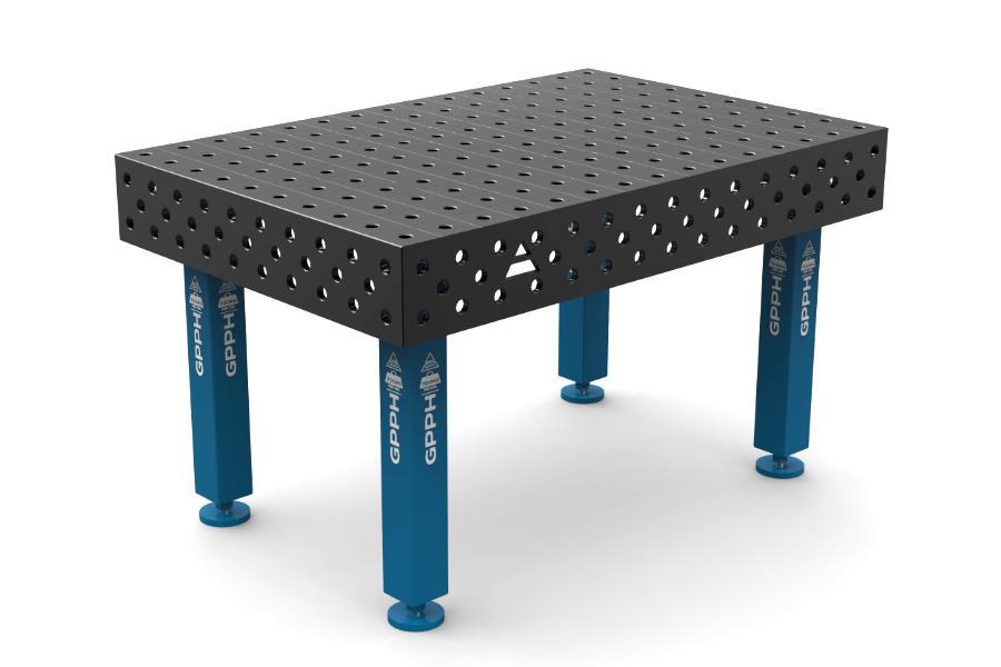 GPPH PRO 1500x1000 mm hagyományos hegesztőasztal