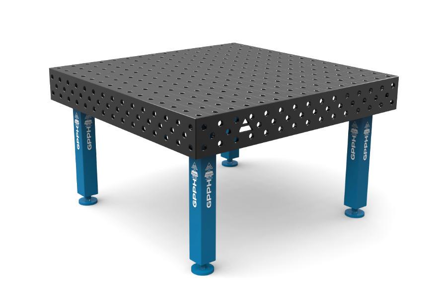 GPPH PRO 1500x1480 mm hagyományos hegesztőasztal