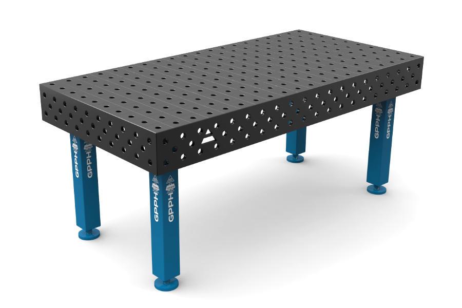 GPPH PRO 2000x1000 mm hagyományos hegesztőasztal